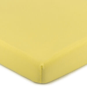 4Home Jersey prestieradlo s elastanom žltá, 180 x 200 cm