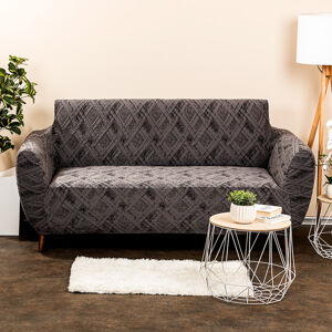 4Home Multielastický poťah na sedačku Comfort Plus sivá, 140 - 180 cm, 140 - 180 cm