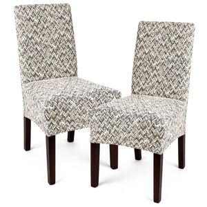 4Home Multielastický poťah na stoličku Comfort Plus béžová, 40 - 50 cm, sada 2 ks