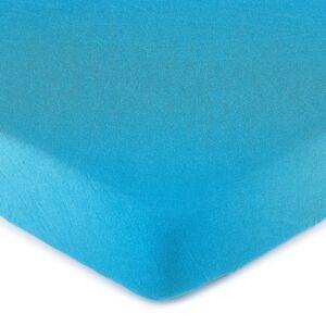 4Home jersey prestieradlo tmavo modrá, 90 x 200 cm
