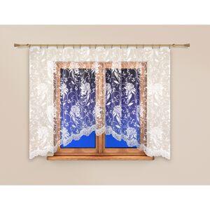 4home Záclona Pivonky, 250 x 120 cm