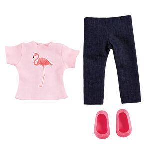 Addo B - Friends Oblečenie Tropické tričko a džínsy, 3 diely