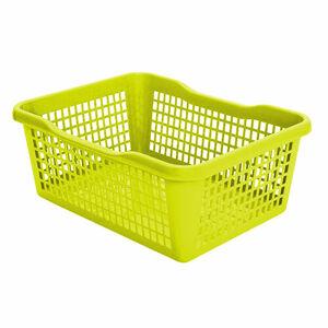 Aldo Plastový košík 35,9 x 26,9 x 13 cm, zelená
