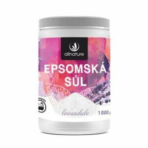 Allnature Epsom Salt Lavender kúpeľová soľ 1000 g