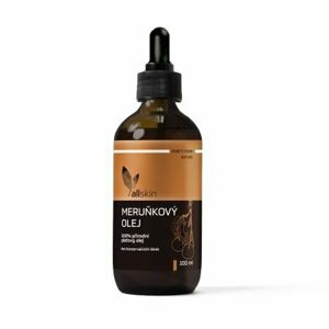 Allskin Purity From Nature Apricot Oil telový olej 100 ml