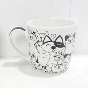 Altom Porcelánový hrnček White cat, 250 ml