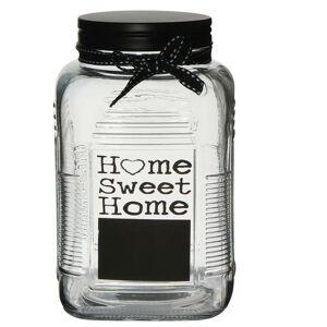 Altom Sklenená dóza Home Sweet Home, 700 ml