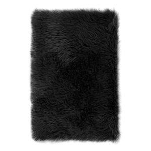 AmeliaHome Kožušina Dokka čierna, 60 x 90 cm