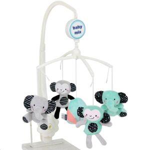 Baby Mix Kolotoč nad postieľku Zoo
