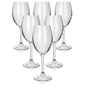 Banquet 6-dielna sada pohárov na biele víno LEONA, 340 ml