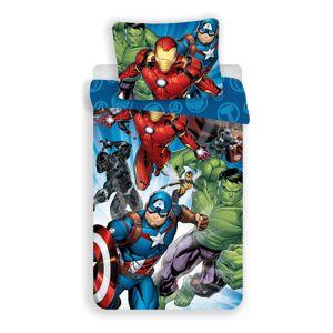 Jerry Fabrics Bavlnené obliečky Avengers Brands 02, 140 x 200 cm, 70 x 90 cm