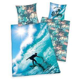 Herding Bavlnené obliečky Surfing, 140 x 200 cm, 70 x 90 cm