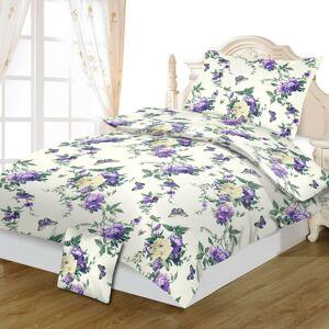 Jahu Bavlnené obliečky Violeta, 140 x 200 cm, 70 x 90 cm, 40 x 40 cm