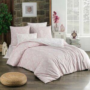 BedTex Bavlnené obliečky Almina púdrová, 140 x 200 cm, 70 x 90 cm