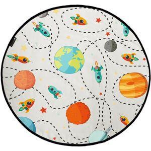 Butter Kings Detská hracia podložka The universe, 130 cm