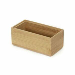 Compactor Úložný organizér Compactor Bamboo Box S - 15 x 7,5 x 6,5 cm