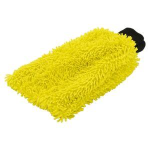 COMPASS Rukavica na umývanie auta Yellow 23x17cm