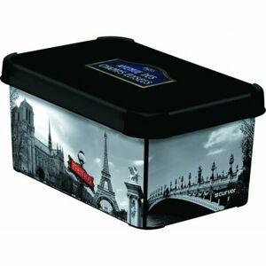 Úložný box dekoratívny S PARIS, Curver