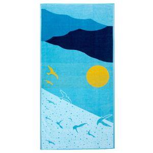 DecoKing Plážová osuška Oceán, 90 x 180 cm
