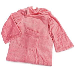 Modom Deka Comfort s rukávmi a vreckom ružová, 180 x 135 cm