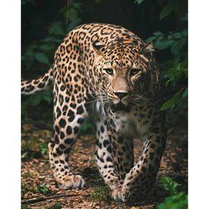 Jerry Fabrics Detská deka Leopard green, 120 x 150 cm