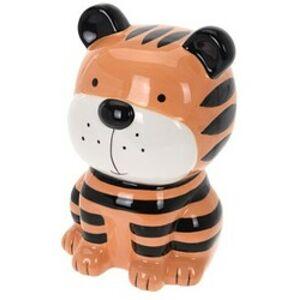 Detská pokladnička Tiger, 18 x 10 cm