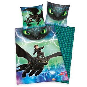 Herding Detské bavlnené obliečky Dragons, 140 x 200 cm, 70 x 90 cm