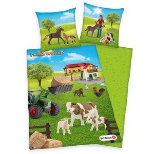 Herding Detské bavlnené obliečky Farm World, 140 x 200 cm, 70 x 90 cm