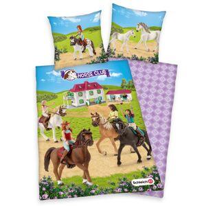 Herding Detské bavlnené obliečky Horse club, 140 x 200 cm, 70 x 90 cm