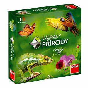 Dino Spoločenská náučná hra Zázraky prírody, 24 x 24 x 5 cm