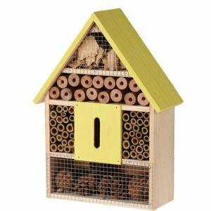 Domček pre hmyz žltá, 22 x 9 x 30 cm