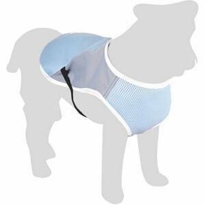 Flamingo Chladiaca vesta pro psov, veľkosť XL 45 cm, modrá