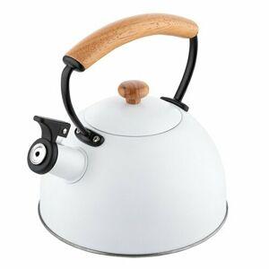 Florina Nerezový čajník Natura Line 2,3 l, biela