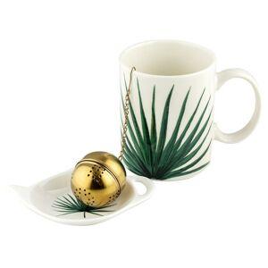 Florina Porcelánový hrnček so sitkom Tropic, 350 ml