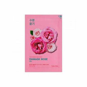 Holika Pure Essence Mask Sheet Damask Rose plátenná maska 20 ml