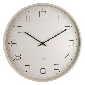 Karlsson 5751WG dizajnové nástenné hodiny, pr. 40 cm