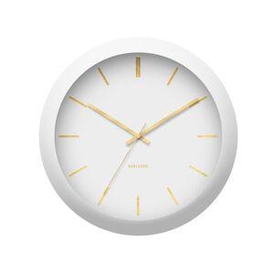 esignové nástěnné hodiny 5840WH Karlsson 40cm