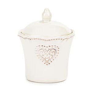 Keramická cukornička Srdce 9 x 11,5 cm
