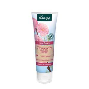 Kneipp Favourite Time Cherry Blossom ošetrujúci krém na ruky 75 ml