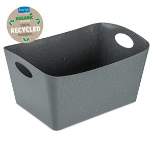 Koziol Úložný box Boxxx L Organic sivá, 15 l, 31 x 48 x 23,7 cm