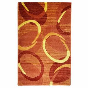 Spoltex Kusový koberec Florida 9828/05 orange, 80 x 150 cm