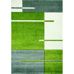 Spoltex Kusový koberec Hawai 1310/01 green, 80 x 150 cm