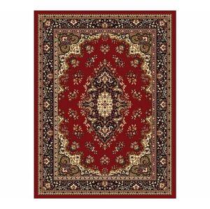 Kusový koberec Ornament, červený