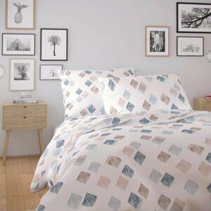 Kvalitex Bavlnené obliečky Nordic Agnes biela, 140 x 200 cm, 70 x 90 cm