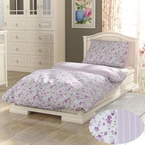 Kvalitex Bavlnené obliečky Provence Viento ružová, 200 x 200 cm, 2 ks 70 x 90 cm