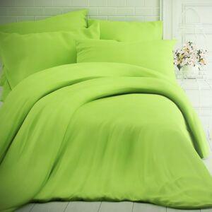 Kvalitex Bavlnené obliečky zelená, 220 x 200 cm, 2 ks 70 x 90 cm