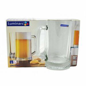 Luminarc 2-dielna sada pohárov na pivo DRESDEN, 500 ml