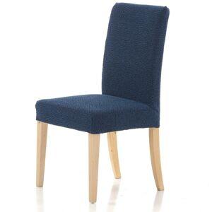 Forbyt Multielastický poťah na stoličku Petra modrá, 40 - 50 cm, sada 2 ks