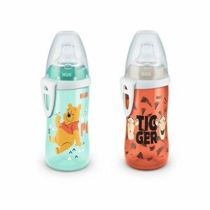 NUK First Choice Fľaša Active Cup DISNEY Macko Pú, 300 ml