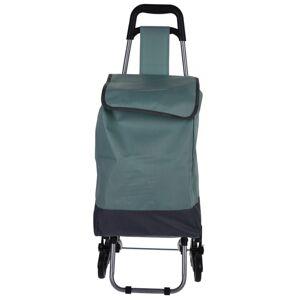 Koopman Nákupná taška na kolieskach Mindelo, zelená